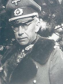 Il gen. Hartwig von Ludwiger
