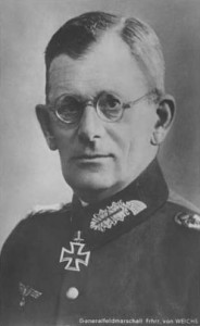 Il Feldmaresciallo Maximilian von Weichs