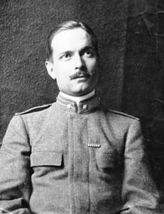 1910, Tenente presso la Scuola di Guerra di Torino