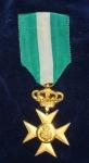 1940, Croce d'oro per anzianità di servizio