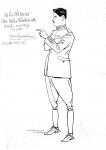 1918, Caricatura donata da un collaboratore