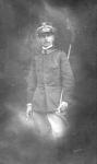 1910, in uniforme di Tenente degli alpini