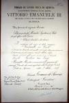 7.10.1917, nomina a Tenente Colonnello
