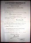 7.12.1933, Commendatore Ordine della Corona d'Italia