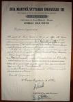 8.6.1923, Cavaliere Ordine SS. Maurizio e Lazzaro