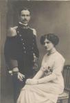1912, Matrimonio con Rina (Caterina) Tranquilli