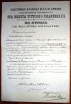 30.4.1918, Cavaliere Ordine della Corona d'Italia