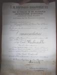 19.12.1940, Commendatore Ordine SS. Maurizio e Lazzaro